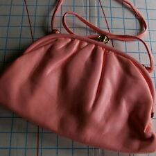 Cabrelli Pink Purse Clutch Vintage Clasp Small