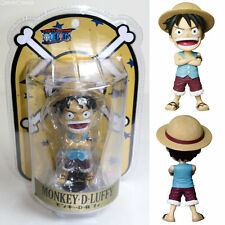 [USED] Monkey D Luffy Bobbing Head One Piece Figure PLEX Japan