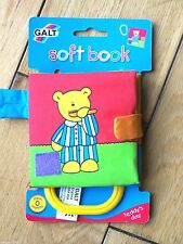 galt soft childrens play picture book - teddy's day teddy bear crinkle sounds **