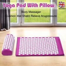 Massage Acupressure Mat & Pillow & Bag Yoga Shakti Sit Lying Mats Release Relief