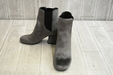 Indigo Rd. Vera 2 Ankle Boots - Women's Size 6 M - Gray Fabric NEW!