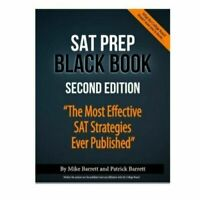 SAT Prep Black Book Second Edition By Mike and Patrick Barrett (P.D .F)