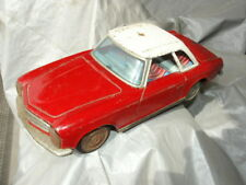 Vintage Jouet tole Mercedes Benz pagode KO Made in japan W113 230 SL TIN TOYS
