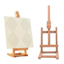 New 43cm Mini Artist wooden Folding Painting Easel Frame Adjustable Tripod HGUK