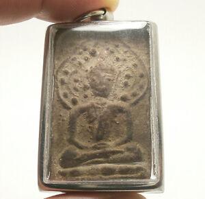 LP BOON LORD BUDDHA SAMADHI UNDER BO TREE THAI AMULET LUCKY PENDANT HEALTHY LIFE