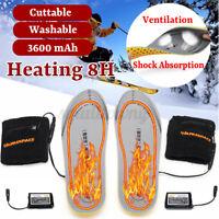 3.7V USB Beheizbare Einlegesohlen Thermosohlen Heizsohlen Beheizt Schuheinlagen