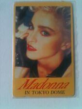 3 carte telephonique souple madonna  japan