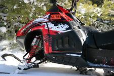 POLARIS IQR / 600RR Snowmobile 2005+ Race Snow-X Sled PDP Middle Vent Kit: BLK