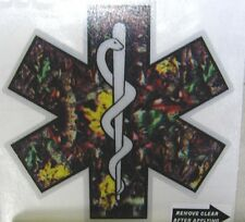"Star of Life, Camo Reflective Decal, 3.75"" wide  #EM27"