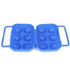 Portauova Porta 6 Uova Contenitore Frigo Plastica Maniglia Scatola dfh