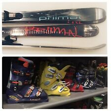 Twin Tip Intermediate Ski Package 160 Or 165 Cm With Your Choice Of Boots Primal