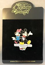 Mickey Mouse & Minnie Disney Auctions ebay GWP Cast Pin LE 1000 New on Card