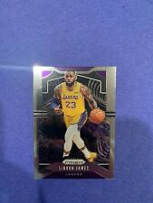 LeBron James 2019-20 Panini Prizm Base Los Angeles Lakers #129 Nicely Centered!