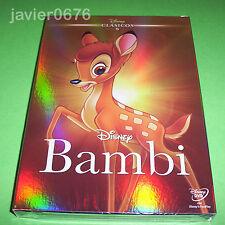 BAMBI CLASICO DISNEY NUMERO 5 - DVD NUEVO PRECINTADO SLIPCOVER