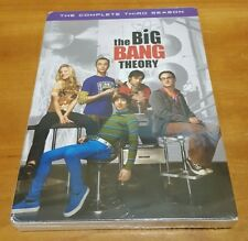Big Bang Theory: The Complete Third Season (DVD) 3 comedy tv show series NEW