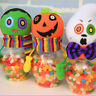 Fj- Eg _ Halloween Caramelle Barattolo Trucco Or Treat Pupazzetto Cofanetto