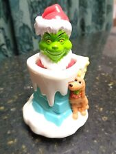 Universal Studios Dr. Seuss Hershey Foods Grinch and Max Pop up Toy Chimney New