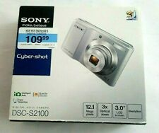 Sony Digital Camera DSC-S2100 (12.1 MP) With Accessories