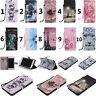 For Samsung Series Phones Strap High Wallet Card Holder Leather Case Cover KT