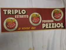 """Original 1933s  litho poster  Advertising for """"TOMATO PEZZIOL"""" Made in ITALY"""