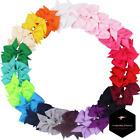 Juego De Moños Cintas Lazos Coloridos Para Niñas De Grogrén X40 Colores Varia