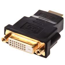 Adaptador HDMI a DVI / Conector Dorado (Macho a Hembra) AC