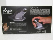 Penguin Wireless Ergonomic Vertical Mouse - Large - OPENED BOX