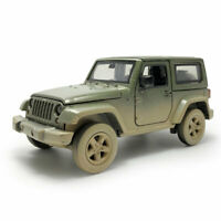 Jeep Wrangler Off-road 1:32 Die Cast Modellauto Spielzeug Sammlung Pull Back
