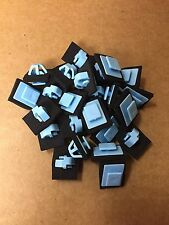 15: Blue Rocker Moulding Grommet Clips With Sealer Fits Hyundai Kia 87756-1F000