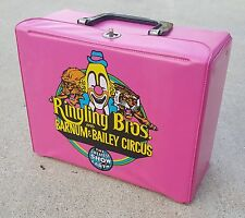 1970's RINGLING BROS BARNUM and BAILEY CIRCUS VINYL LUNCH BOX - RARE