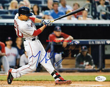 MOOKIE BETTS RED SOX MLB MVP AUTOGRAPHED SIGNED BASEBALL PHOTO 8X10  Reprint