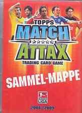 Match Attax 2008/09 aus Liste 20 Basis-Karten und auch Sonderkarten aussuchen