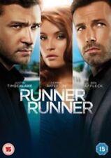 RUNNER RUNNER JUSTIN TIMBERLAKE BEN AFFLECK GEMMA ARTERTON UK R2 DVD NEW SEALED