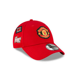 MANCHESTER UNITED – MULTI PATCH NEW ERA 9FORTY BASEBALL HAT