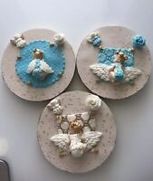 Baby Shower Baptism Comunion Fondant Cake Topper