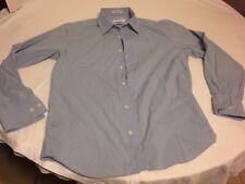 Calvin Klien Medium Blue and White Dress Shirt