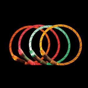 Leuchthalsband LED-USB Trixie Flash Hund Leuchtschlauch Hundehalsband USB