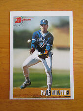 Rare! 1993 Bowman Baseball - BLANKBACK ERROR - Paul Molitor Blue Jays