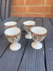 Antique Rare Aynsley Set Of Four Egg Cups  Circa 1891