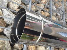 Stove Pipe Stainless Steel Chimney Renovation Flue Pipe 1.4404 Pipe 150 0,6 MM