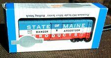HO Bachmann 40' Bangor & Aroostook State of Maine Box Car Silver Series NEW