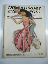 Saturday Evening Post- May 17, 1930-John LaGata-Millionaire's Girl-Fitzgerald
