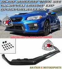 CS-Style Front Lip (Urethane) Fits 18-19 Subaru WRX STi