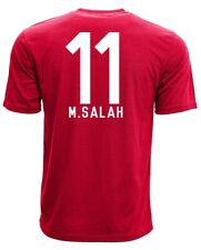 OFFICIALLY LICENSED MOHAMMED SALAH #11 LIVERPOOL RED ADULT T-SHIRT SIZES SM-XXL