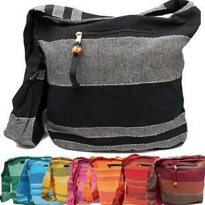 Tasche Schultertasche Beutel Stofftasche Baumwolle Umhängetasche Hippie Goa Bag