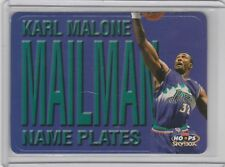 1999-00 Skybox NBA Hoops - Name Plates #3 NP Karl Malone