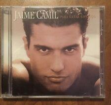 JAIME CAMIL - Para Estar Contigo Original CD MEXICAN edition RARE hard To Find