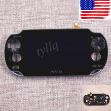 Black LCD Screen Display Digitizer FOR SONY PS VitaPCH1001 Full Assembly w frame
