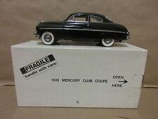 Danbury Mint 1949 Mercury Coupe Black 1/24 Scale Car Automobile Auto