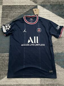 2021/2022 PSG Home Jersey with UCL Patch - Messi #30 - XL